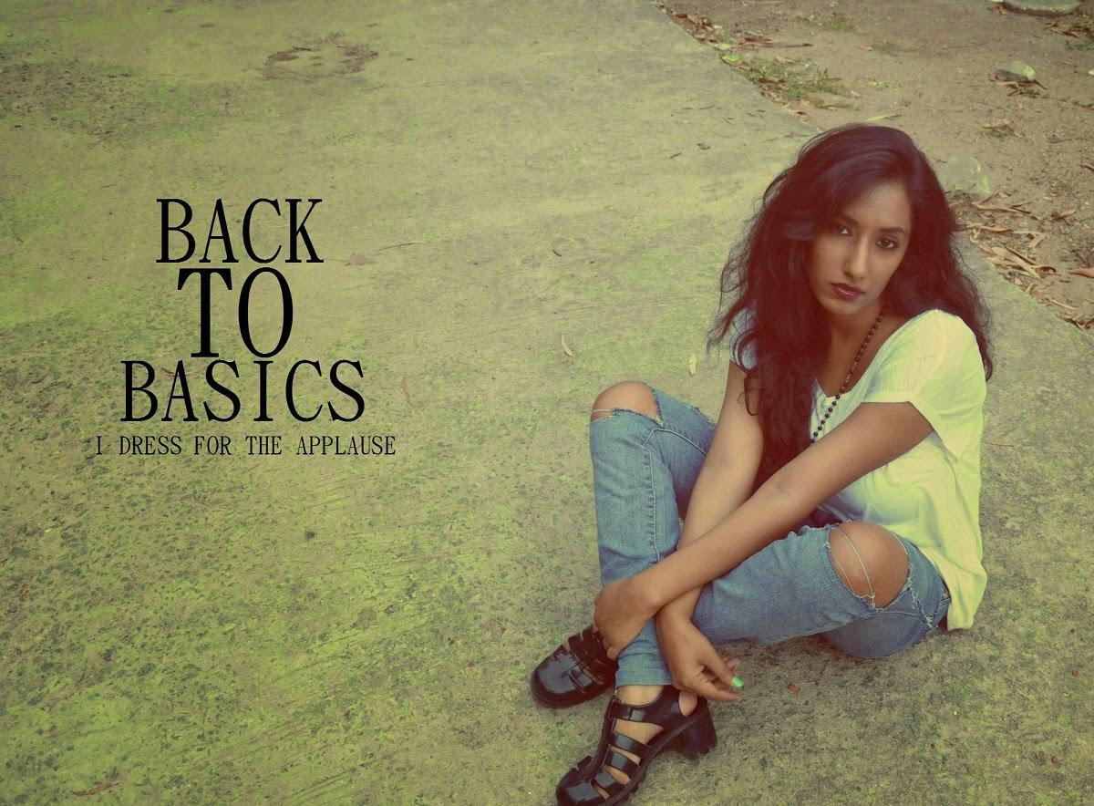 BACK TO BASICS1
