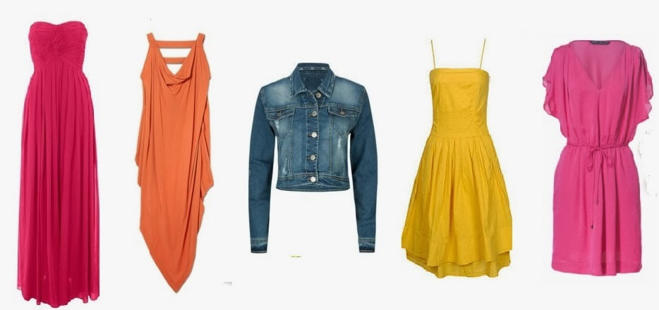 DRESSING UP ON BIRTHDAY DENIM DRESS YELLOW PINK ORANGE FASHION  COMFY BEAUTIFUL