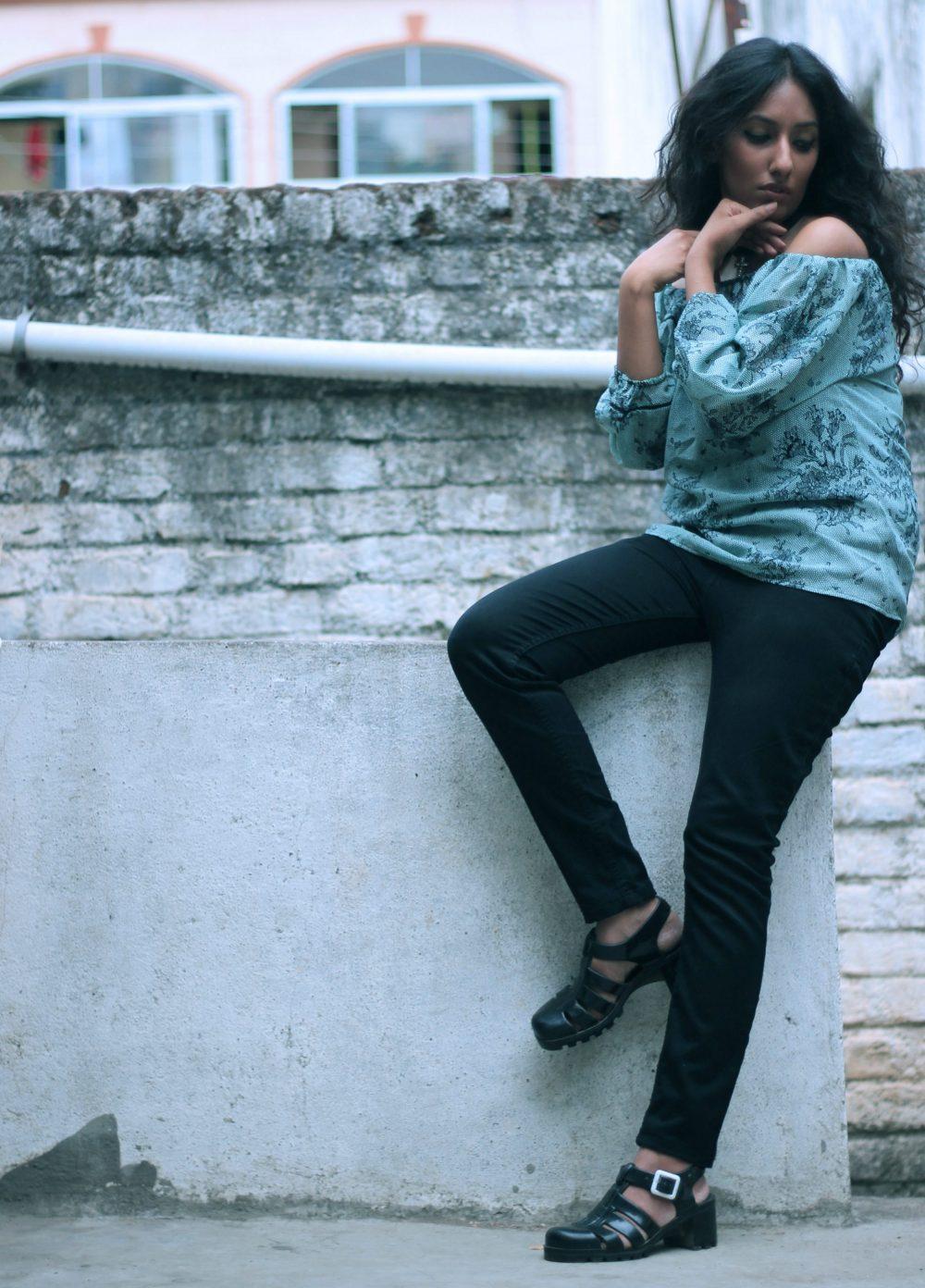 conceptual ; dark photography ; i dress for the applause ; naznin suhaer ; editorial ; monsoon ; rain ; dusky ; fashion ; beauty ; bardot top ; off the shoulder ; fashion blogger ; indian fashion blogger ; hyderabad fashion blogger ;