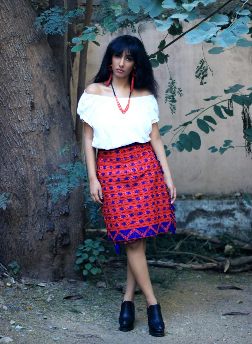 hyderabad fashion bloggers ; ilandlo ; nagaland ; naga style ; nagaland fashion ; northeast fashion ; northeast ; ao tribe ; naga tribe ; tribal wear ; tribal fashion ; streetstyle ; indian streetstyle ; streetfashion ; lookbook ; outfit ; ootd ; fashion ; style ; beauty ; hyderabad fashion blogger ; hyderabad blogger ; dark ; vintage ; prints ; fashion story ; Naznin Suhaer ; I Dress for the Applause ;