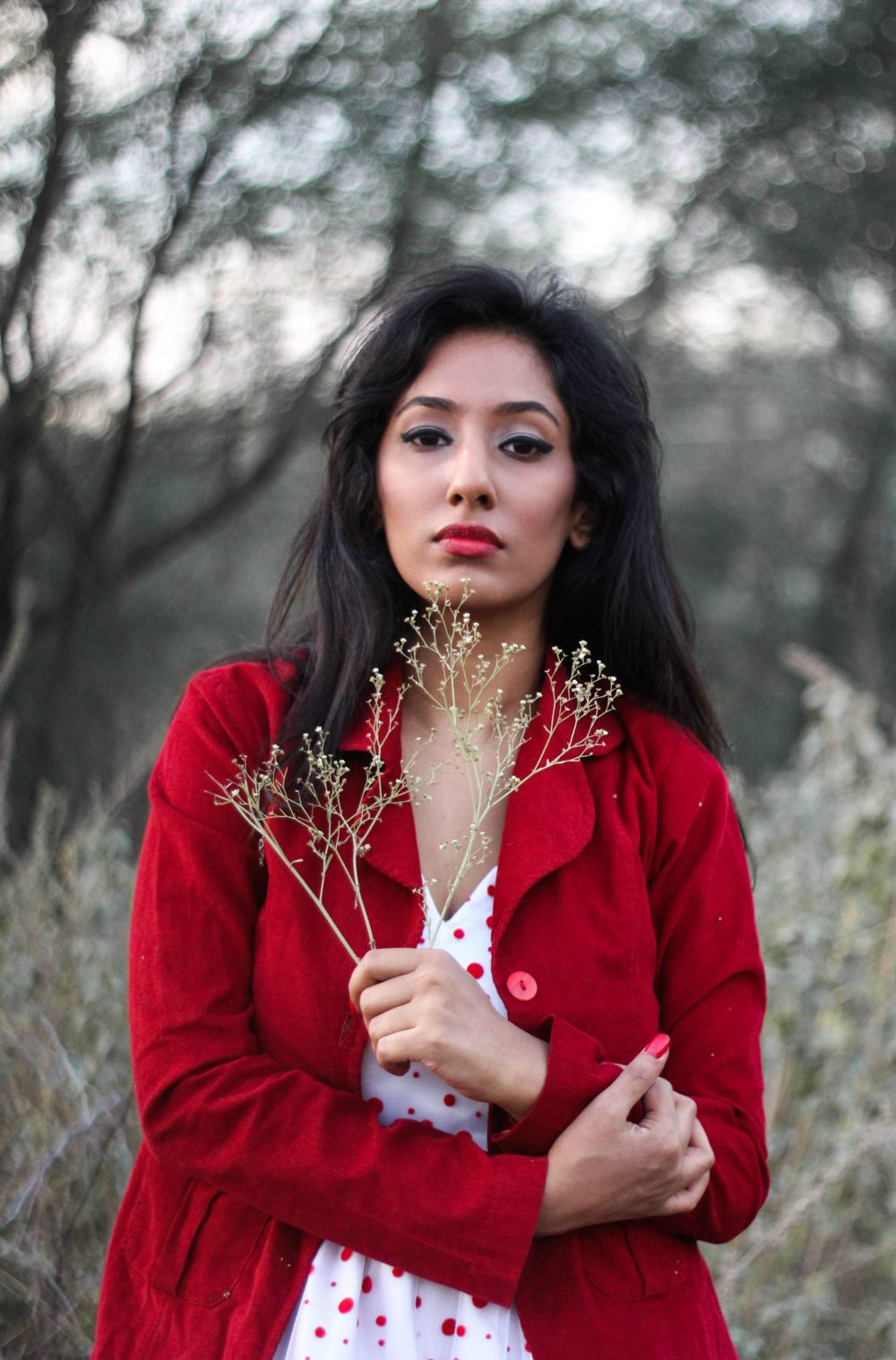 Lookbook ; Christmas post ; Christmas outfit ; Dusk ; Conceptual ; fashion photography ; Sunset ; Red Jacket ; Red Dress ; White Dress ; Dark ; Naznin ; hyderabad fashion bloggers ; hyderabad bloggers ; hyderabad fashion blogger ; I Dress for the Applause ; winter ; socks