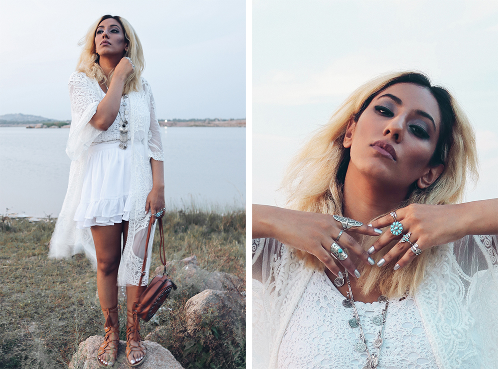 White Sheer Cover up ; Beach Look ;Boho Look ; Zaful ; Indie Fashion ; Crochet ; Bohemian ; Fall Fashion ; Layering ; Blonde ; Conceptual ; fashion photography ; ootd ; fall look ; winter Fashion ; zaful ; fall 18 ; Hyderabad ; Editorial ; Naznin ; Naznin Suhaer ; dusky; model ; indian blogger ; hyderabad fashion bloggers ; hyderabad bloggers ; hyderabad fashion blogger ; I Dress for the Applause ;