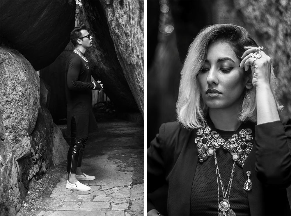 Vintage Fashion ; Pop Art ; Street style ; Graffiti ; Editorial ;Black outfit ; Gold accessories ; Punk Fashion ; Style feature ; asos ; pleather plants ; men's fashion ; Layering jewelry ; fashion photography ; street fashion ; Naznin ; Naznin Suhaer ; dusky; model ; indian blogger ; hyderabad fashion bloggers ; hyderabad bloggers ; hyderabad fashion blogger ; I Dress for the Applause ; Hyderabad ;