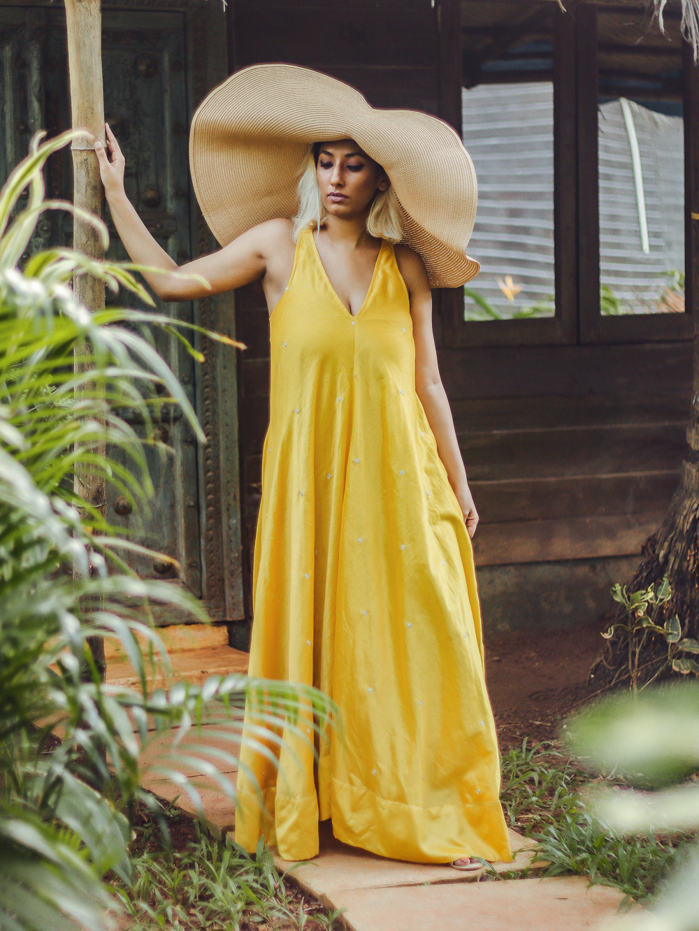 Nicobar Dress , Goa Fashion , Boho ; Yello maxi ; Leela Cottages ; Goa ; Summer Getaway ; Travel ; Ashwem Beach ; Sea view ; By the Ocean ; Cottage Life ; Bohemian look,  Bright Colors ; straw hat  ; Palm Trees ; Nature Lover ; Slow living ; photography ;  Naznin ; Naznin Suhaer  ; indian blogger ; hyderabad fashion bloggers ; hyderabad bloggers ; hyderabad fashion blogger ; I Dress for the Applause ; Hyderabad ;